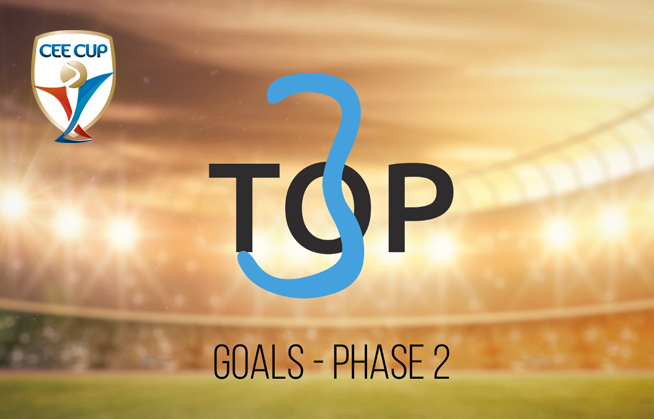 [BEST-GOALS] CEE Cup 2017: Second Phase