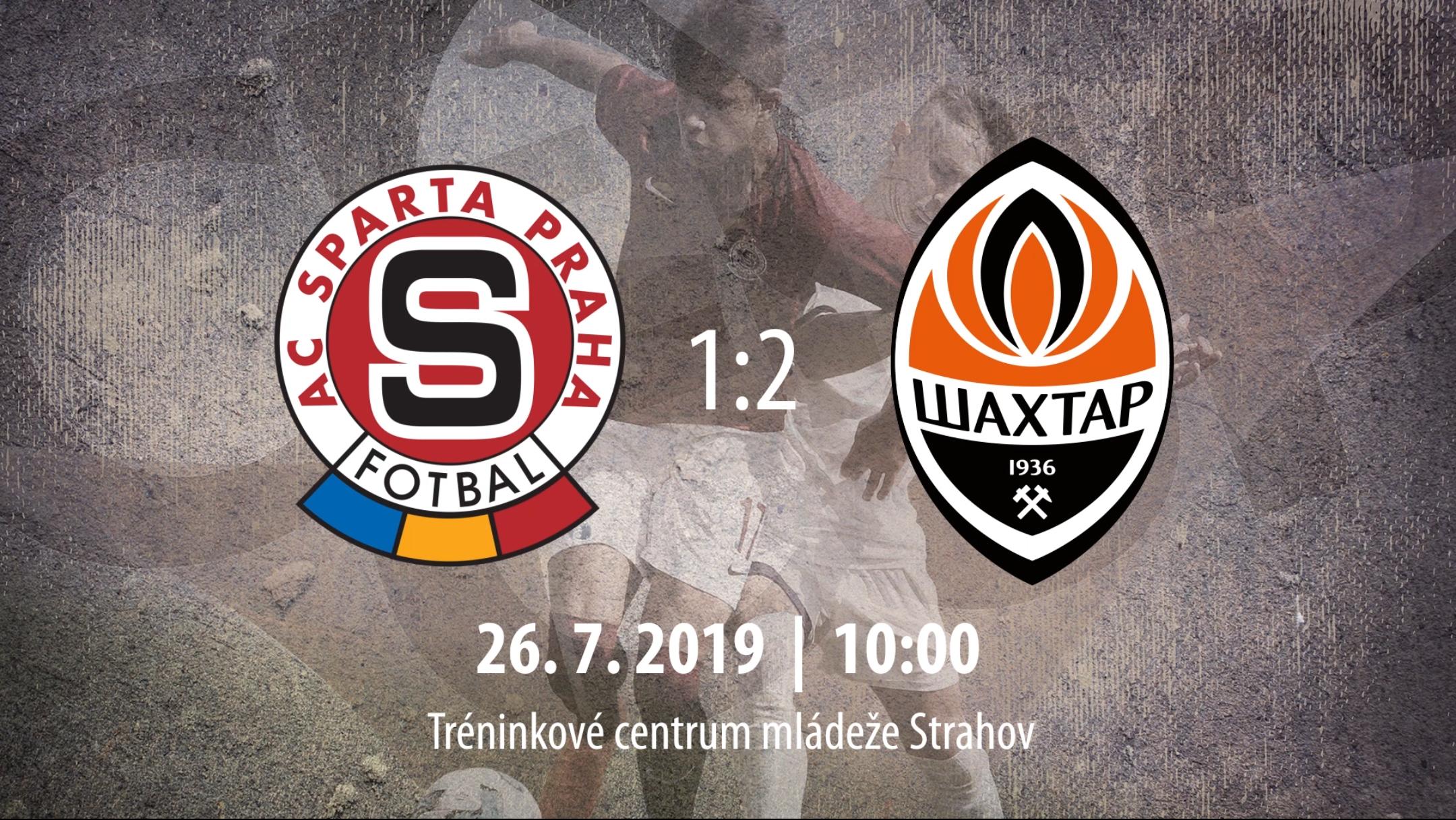 [HIGHLIGHTS] CEE Cup 2019: AC Sparta Praha vs FC Shakhtar Donetsk 1-2