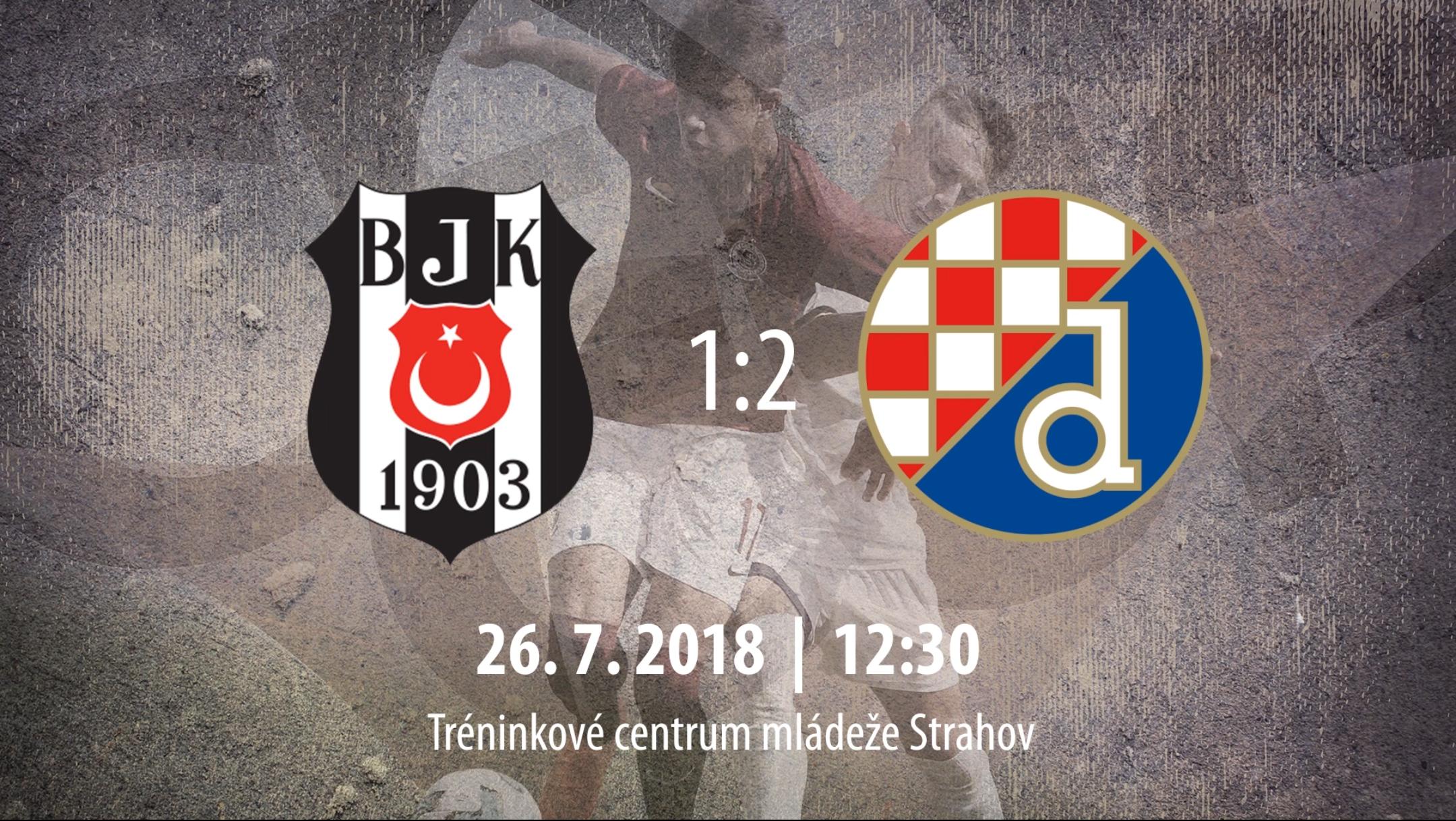 [HIGHLIGHTS] CEE Cup 2019: Beşiktaş JK vs GNK Dinamo Zagreb 1-2