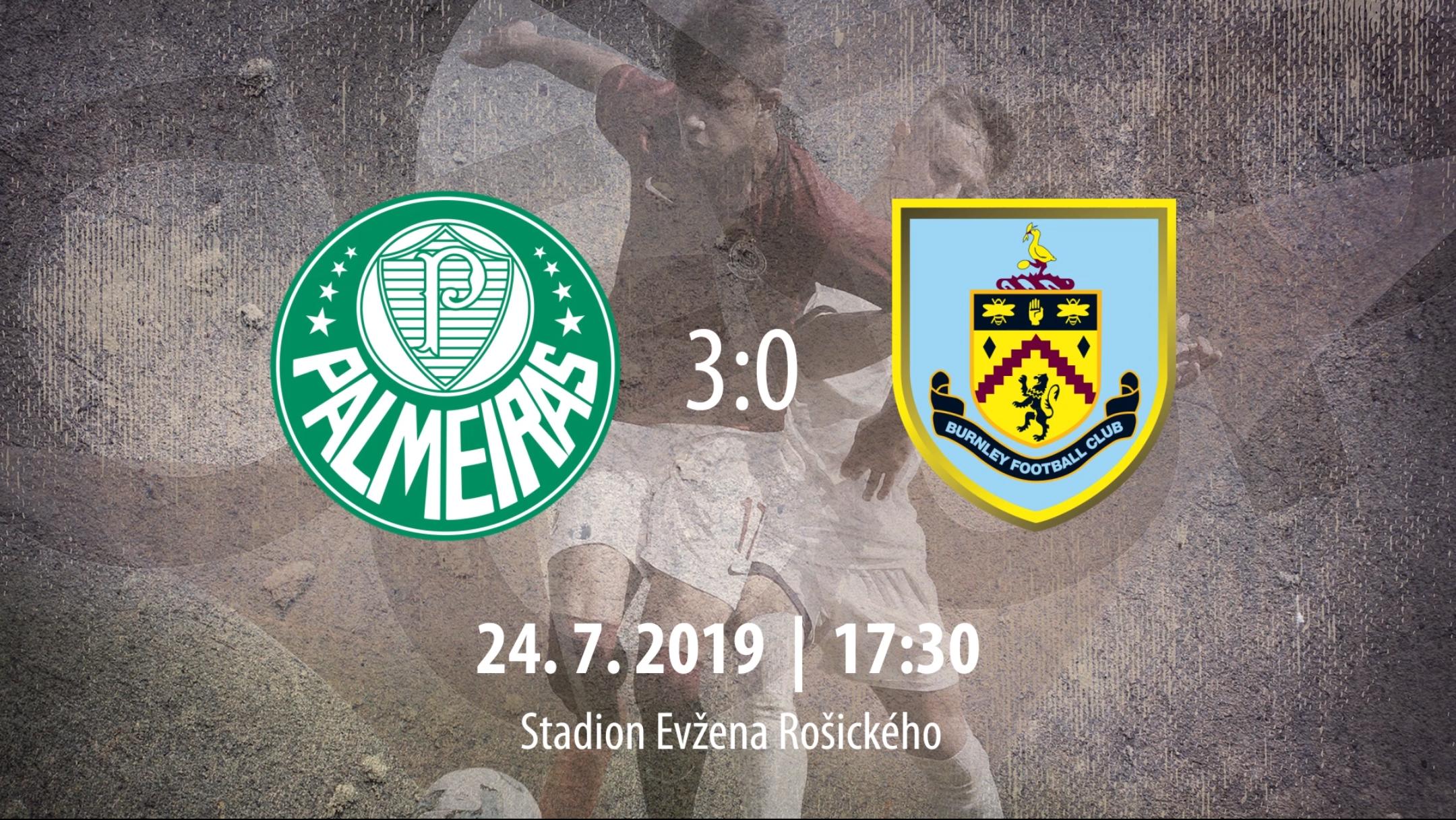 [HIGHLIGHTS] CEE Cup 2019: SE Palmeiras vs Burnley FC 3-0