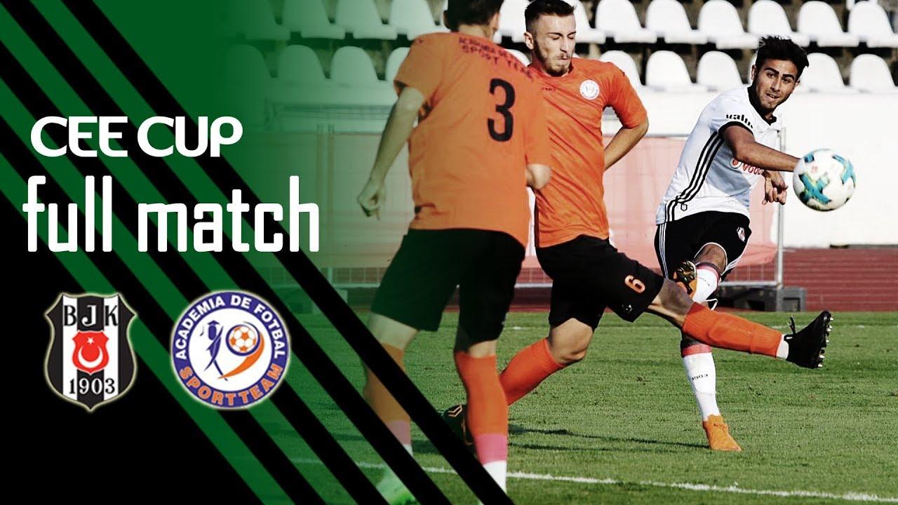 CEE Cup 2018: Beşiktaş JK vs Academia Sport Team 1-0