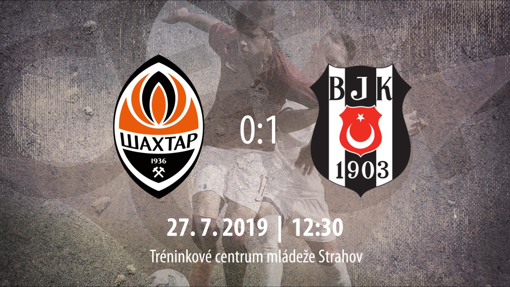 [HIGHLIGHTS] CEE Cup 2019: FC Shakhtar Donetsk vs Beşiktaş JK 0-1