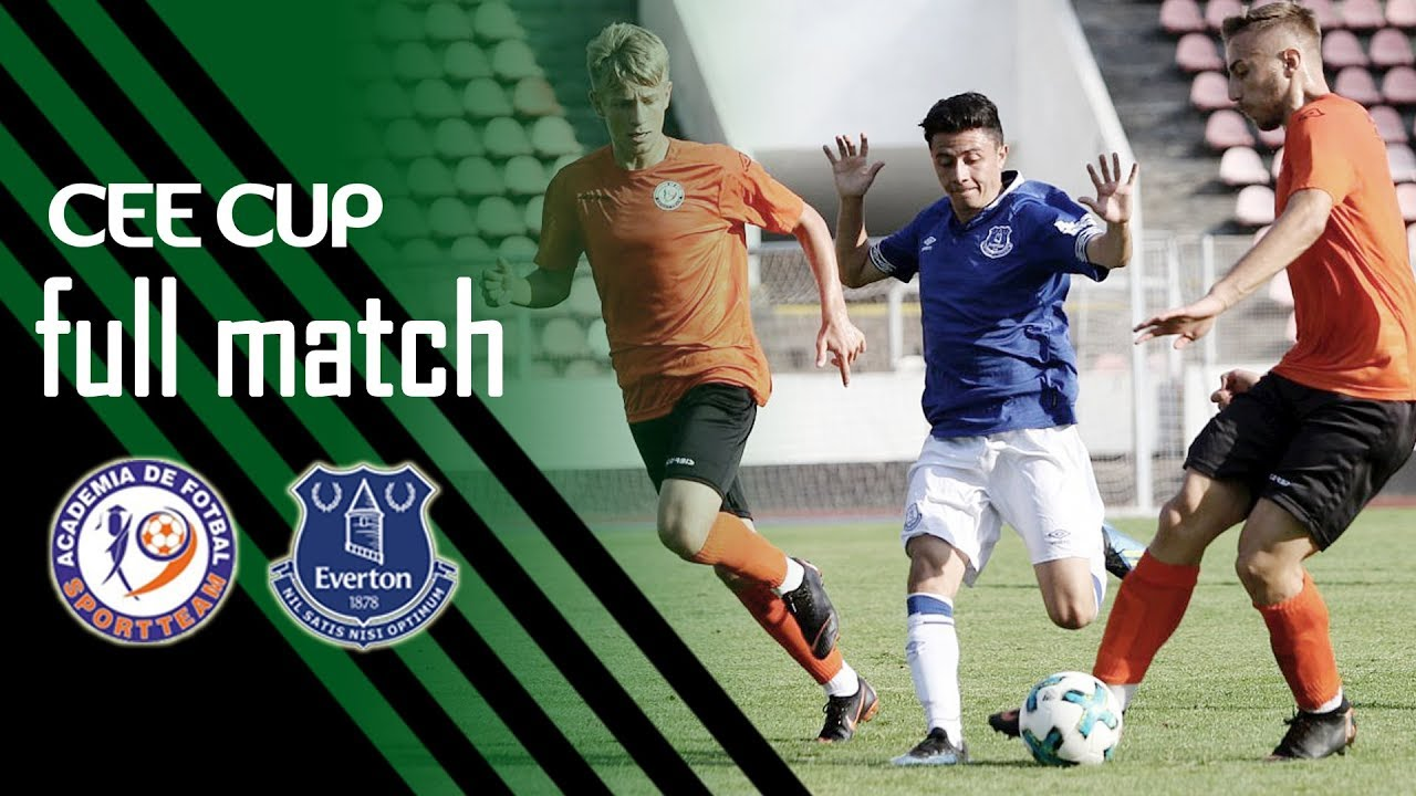 CEE Cup 2018: Academia Sport Team vs Everton FC 0-4