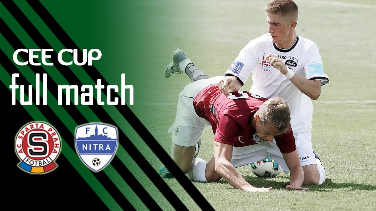 CEE Cup 2018: AC Sparta Praha vs FC Nitra 0-0